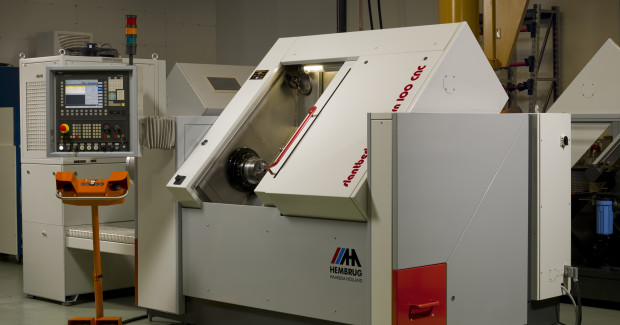 Figure 1. High rigidity allows higher process forces: Hembrug turning machines are especially suitable for high-precision hard turning.