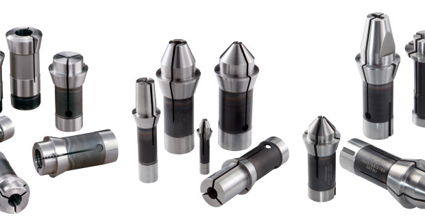 Hardinge Swiss-type headstock collets, pickoff collets, carbide guide bushings, bar loader collets and custom manufactured solutions are designed for machining small diameter parts for medical component manufacturing.