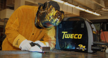 Designed to combine safety, strength, flexibility and comfort, the Tweco WeldSkill four-sensor helmet from Victor Technologies passes every one of the 49 tests required under the ANSI Z87.1-2010 standards. This includes the ability to retain its auto-darkening performance even after high impact by a steel ball.