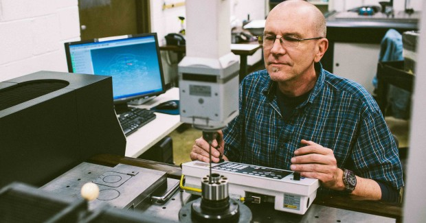 After honing, Waltz confirms bore measurements on scanning CMMs. The results become part of the manufacturing history for each part.