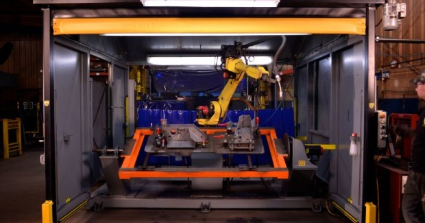 Industrial machine guarding products that Frommelt Safety and its parent company, Rite-Hite, will continue to manufacture include the Guardian Defender (shown here), Flashfold, Vertiguard, SlideAir, Rollshield, Rollshield Side-To-Side, X-Ten, and Roboguard Fence.