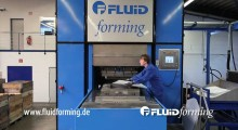 FormBalancer FluidForming machines now have bed sizes from 800 mm x 800 mm (32 in x 32 in) up to 1200 mm x 1200 mm (47 in x 47 in) with a next generation size of 1500 mm x 1800 mm (59 in x 71 in).