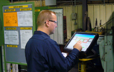 The Overall Employee Effectiveness metric focuses on the employee as the central asset of measurement as opposed to the machine. This measure is very good in operations that have labor content as a significant factor in the successful value-add processes on the production floor. By improving factory floor operator activity, the production facility can create an improvement in the value stream.