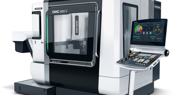 "The new DMG  MORI design is optionally available in either ""BLACK"" or ""WHITE"" at no extra cost. (first view)"