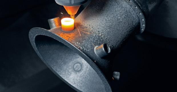 Additive manufacturing offers new possibilities for high complexity and individuality.