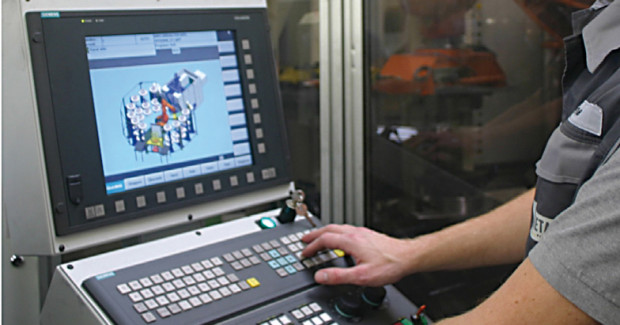 An advanced CNC with dual channel capability can dramatically improve the productivity of your machine shop, production department, laser, press brake or fab shop operation – without any special knowledge of robot language or all the ancillary hardware and software.
