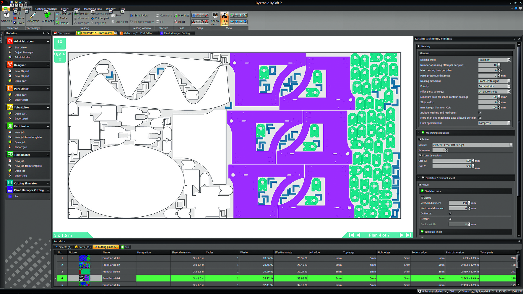 On the CAM side, BySoft 7 from Bystronic introduces a variety of  innovations that improve and simplify the manufacturing process. Operators  have the ability ...
