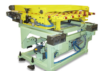 COE designed the stand-alone tailout feeders to retrofit within the space downstream from the primary coil feeder. The feeder extension is operated through a motorized screw assembly.  During normal operation the primary feed indexes the coil into the die. Once the tailout sequence is initiated, the secondary feeder takes over the feed cycle.