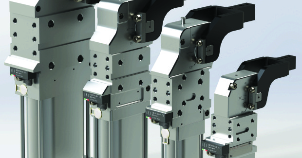 The new 82M-3E Series of enclosed pneumatic power clamps from DE-STA-CO provides automotive and sheet metal processing customers with superior holding power in a versatile, user-friendly and low-maintenance package.