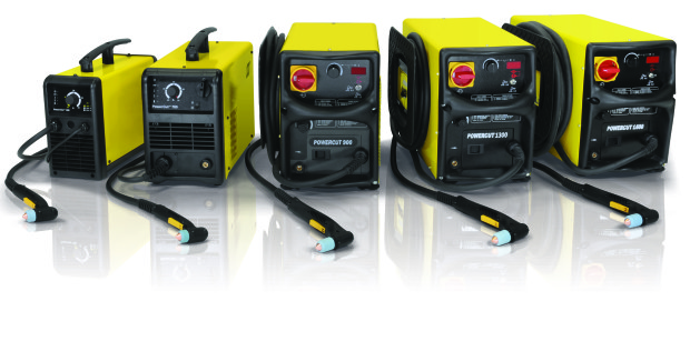 PowerCut machines from ESAB feature a strong composite case material designed for rugged treatment and outdoor use, and a durable torch cable prevents snagging on fixtures and materials. These features make PowerCut an excellent choice for rental fleet and construction site uses. A built-in line conditioner handles the effects of poor power lines.