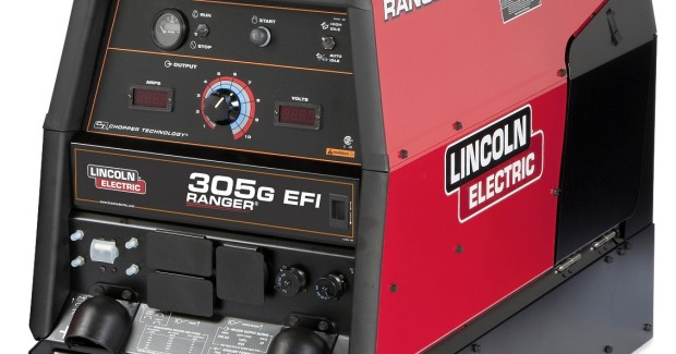 The K3928-1 Ranger 305 G EFI from Lincoln Electric uses Lincoln Chopper Technology® for simple starts, a smooth arc, low spatter and excellent bead appearance.