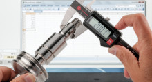 With a sleek new-look, MarCal 16 EWRi digital calipers are easier to read with a large clear digital display, and include a number of advanced features, such as lapped guideways, a reference system that retains the zero position setting, and a number of product options and accessories.