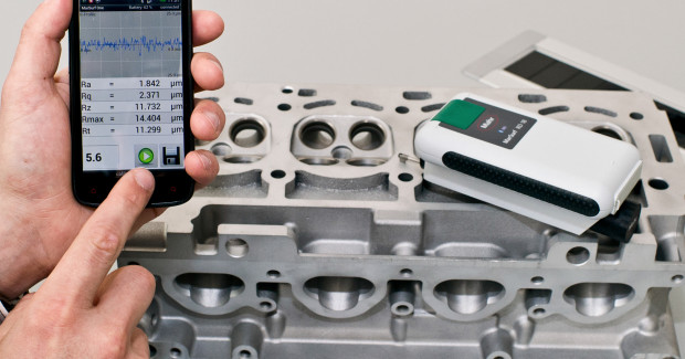 Mahr Federal offers an Android App that lets users measure common surface roughness parameters using their Smartphones and other Android operating system devices. The MarSurf® One App interfaces via Bluetooth with a Mahr RD 18 Drive Unit and probe to measure the most popular roughness parameters, including Ra, Rz, Rmax, Rt, and Rq.