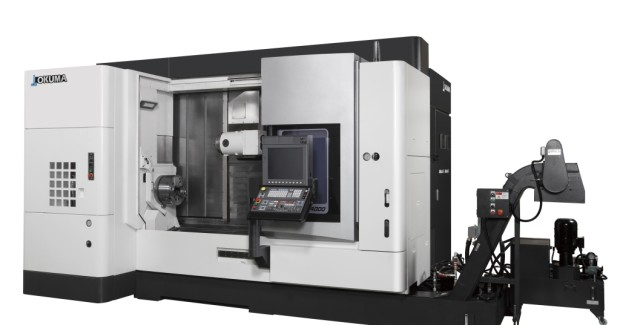 "MULTUS U Series lathes from Okuma are equipped with a comprehensive package of Intelligent Technologies (Thermo-Friendly Concept, Collision Avoidance System and Machining Navi) and a variety of efficiency features which make them ""Intelligent Multitasking Machines."""
