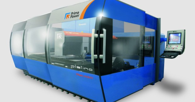 The PLATINO® Fiber laser cutting machine.