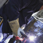 Remote control welding technologies provide the ability to make process changes and parameter selections at the weld joint, which helps save time, increase productivity and improve safety in fabrication and manufacturing applications.