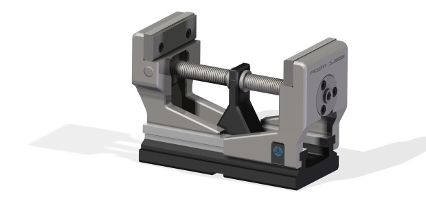 The double jaw-guidance system from Röhm moves jaws smoothly along their axes to accommodate a wide range of part sizes without having to remount the jaws.