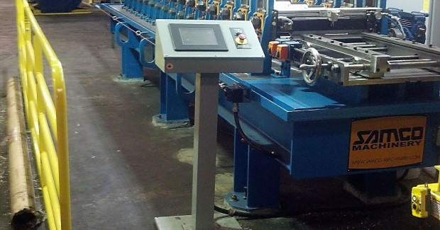 Sample parts were run in Toronto to make sure the roll former worked properly prior to shipping. Premier tested the equipment again upon delivery and installation on the shop floor to make sure the machinery still repeated compliance to specifications after it was received in the plant.