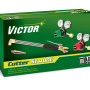 The Victor ST400 straight torch is available separately or as part of a cutting outfit that includes Victor G Series regulators and hoses.