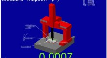 Verisurf software supports both modern model-based measurement techniques and traditional blue print measurement processes. Measurement includes the import of any CAD model, creation of model associative GD&T, automated alignment of 3D CAD models to physical parts and real time probe position with deviation display.