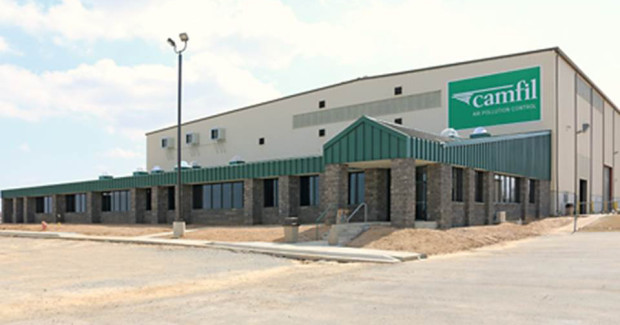 New Camfil APC office facility in Jonesboro. The corporate headquarters expansion is the latest step in a worldwide global development program by the company.
