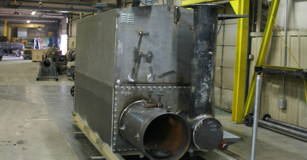 Pride of the Hills systems use piping that is typically constructed of an A/SA106 grade B or grade C carbon steel, while pressure vessels are typically built of SA516 grade 70 material. All welding processes must be tested and proven to meet code. (first view)