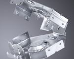 New punching machine capabilities make it easy to manufacture a complete part with bends, forms, shear edge quality, all with a finish that is free of scratches, nibble marks or burrs, without any secondary operations.