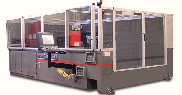 The Oak Ridge Manufacturing Demonstration Facility and Cincinnati Incorporated are jointly developing the BAAM system. Cincinnati expects to have BAAM for sale before the end of the year to build thermoplastic parts many times faster than conventional additive manufacturing systems. (Photo courtesy of Cincinnati Incorporated)