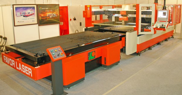 Favor Laser's new XO high performance laser cutting machine is based on custom CNC hardware and software from NUM.