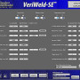 "The VeriWeld-SE™ Weld Seam Monitor records, analyzes and stores machine operating and weld schedule parameters using customer defined preset variables to validate weld quality. The weld data is read at 2,000 samples per second and the results are archived within the system and transferable to MS Excel and ""upper level"" SPC and SQC systems. (second view)"