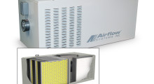 The Airflow Systems Model MPH10 mist collection and filtration system provides MERV 14 filtration efficiency.