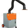 The SmartMaster is a mobile suction device for less than €1000 that is ideally suited for welding of high alloy steel.