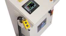 COE's new coil processing line at Hudson Industries features a ServoMaster Controller to automate setup functions.