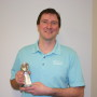 Tim Zak, an employee of Tristate Machinery, was named salesman of the year by selling more products than anyone else in GF Machining Solutions' 110-member sales network.