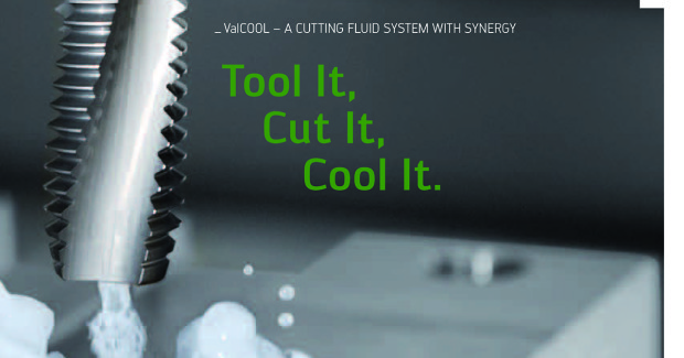 The Walter Valenite ValCOOL® cutting fluid catalog includes a table for resolving coolant/machining problems, a guide for fluid maintenance, packaging options, and a glossary of coolant terms as they relate to machining operations.