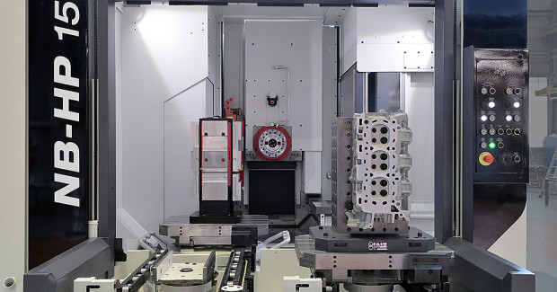 "Following an overhaul or retrofit and equipped with new tools and processes, high-speed cutting is often possible on ""old"" machine tools. (second view)"