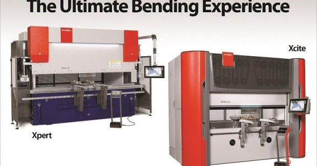 Bystronic Xpert and Xcite press brakes series are equipped with the revolutionary new Bystronic ByVision Bending control to offer unmatched efficiency and productivity capabilities.