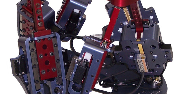 Figure 1a. An example of the HR2 hexapod model.