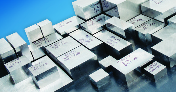 Accu-Square™ tool steel comes pre-squared on all six sides to a tolerance range of the customer's choosing.