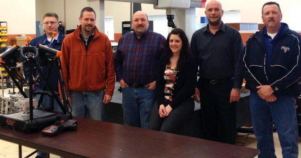 The ACE Personnel (l-r): Keller, Jeremy Holbrook, Ken Bergler, Kristin Monahan, Jason Christensen, Kurt VonLinsowe.