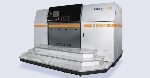 The LaserCUSING System X line 1000R in XXL format was recently released by Concept Laser.