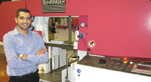 Matt Medeiros is the new southern regional sales manager for Behringer bandsaw equipment.