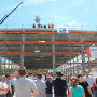 The construction shell of Concept Laser's new 3,500 sq m production facility in Lichtenfels.