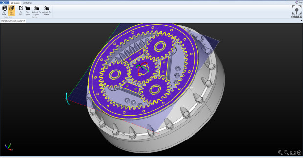 Intelli-CAM quickly generates multi-axis, machine-ready tool paths from complex 3D solid models. The software generates machine-ready cutting geometry through a few simple computer mouse clicks.
