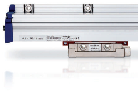 Booth E-5224: The new G and SV series linear encoders from Fagor Automation incorporate the patented TDMS® (Thermal Determined Mounting System) that allows for minimum error deflection regardless of the environment by controlling the expansion and contraction of the scale. The positioning errors originating from machine mechanics are minimized as the encoder is directly mounted to the machine surface and the guide ways. The encoder sends the real machine movement positional data to the CNC, therefore, mechanical errors due to thermal behavior, pitch error compensation and machine backlash are minimized. (second view)