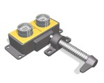 The AIE is a double key, stainless steel, access interlock with power safe electrical switch for isolation or switching of low current.