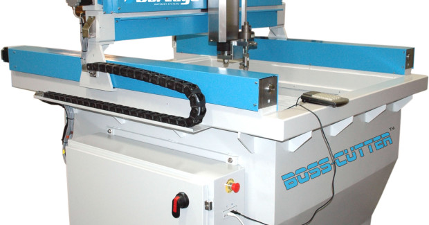 Booth N-6618: Designed especially for cost-conscious shops with limited ¬floor space, the BOSS-CUTTER waterjet from Jet Edge cuts parts up to 6 in thick from virtually any material.