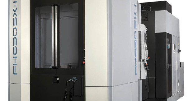 Booth S-8519: The FH630SX-I horizontal machining center is Toyoda's latest 630 mm-sized linear guideway machine. Engineered for power and rigidity, it offers a standard 8,000 rpm, high-torque (37 kW, 1,009 Nm) spindle and dual ballscrews on the Y- and Z-axes. It features improved X-, Y-, and Z-axis travels at 41.3 in (1,050 mm), 35.4 in (900 mm), and 41.3 in (1,050 mm), respectively. Constructed to withstand a greater load capacity of 3,310 lb (1,500 kg), it offers a more robust column design for more aggressive cutting on larger workpieces.
