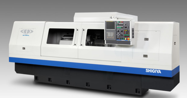 Booth N-7353: Grinder speeds on the GSU-40B Universal Grinder from Shigiya can be changed steplessly on the AC servo motor within a range of 15 to 600 rpm. A user-friendly and flexible interactive programming system automatically determines the optimal rotational speed for each workpiece.