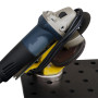 Booth N-6049: Designed by customer demand, the Grinder Rest from Strong Hand Tools is an ideal solution for keeping heavily used handheld Grinders, and Grinder components, safely stored near the work area for greater efficiency whether the work area is in the shop, or out in the field.